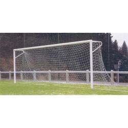 Комплект сеток для футбола ДНПП 166х12 (d2.5 мм) -100мм, разм 7,5 х 2.5 х 2,0 х 2.0 цвет белый